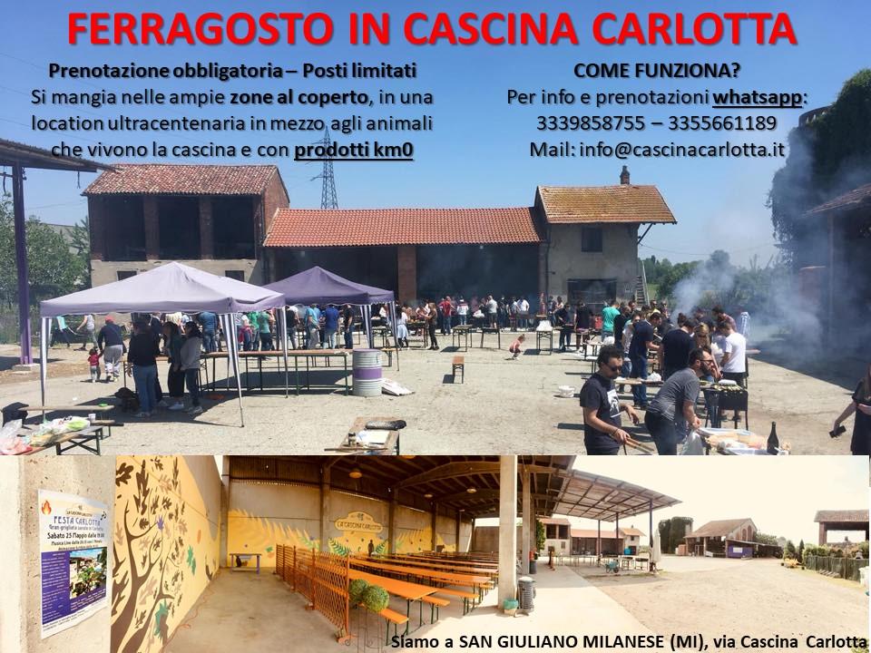 FERRAGOSTO 2021 CASCINA CARLOTTA